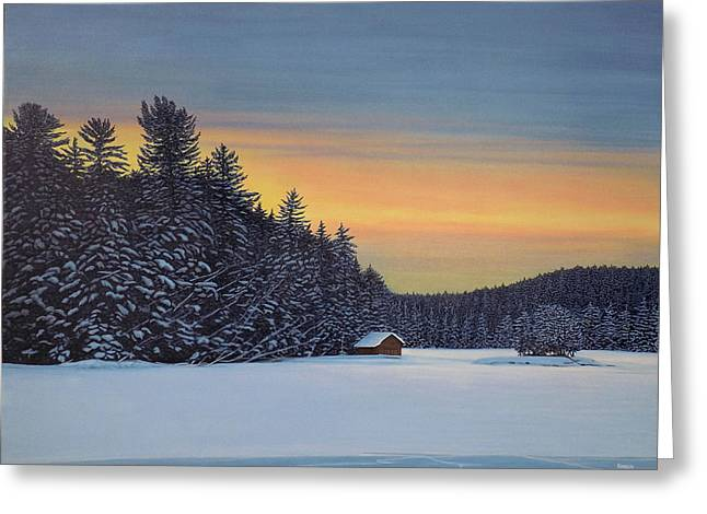 Muskoka Winter Greeting Card