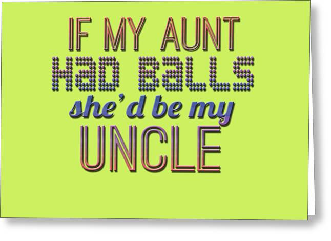 My Aunt Greeting Card