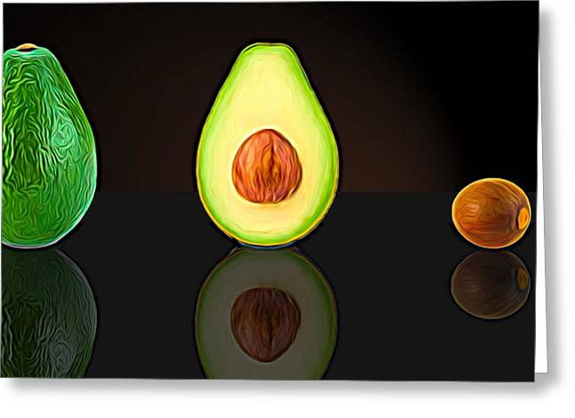 My Avocado Dream Greeting Card