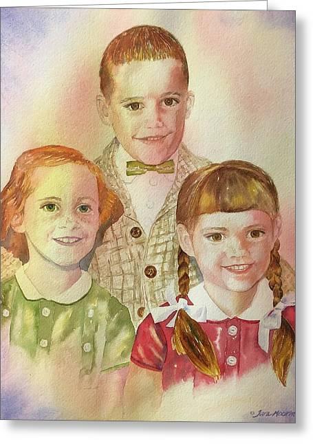 The Latimer Kids Greeting Card