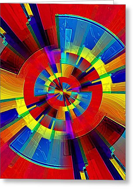 My Radar In Color Greeting Card