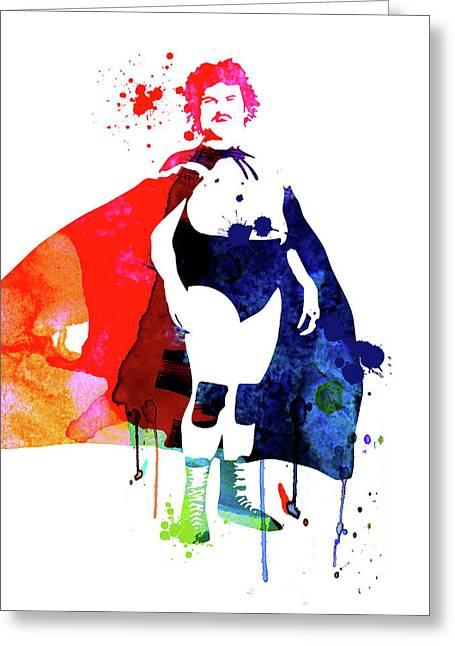 Nacho Watercolor Greeting Card