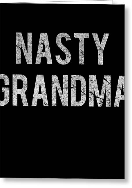 Nasty Grandma Vintage Greeting Card
