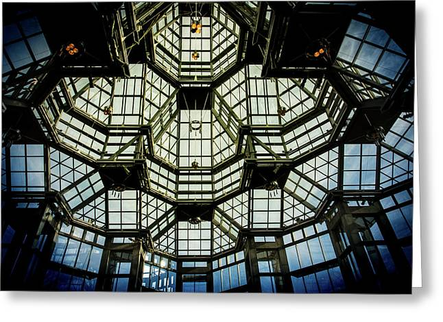 Glass Ceiling National Gallery Of Canada Greeting Card