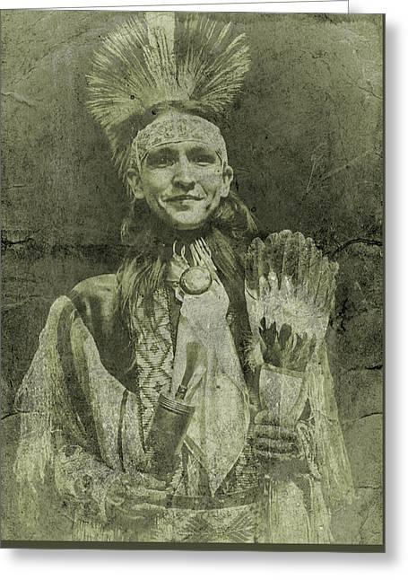 Native American Dancer Greeting Card