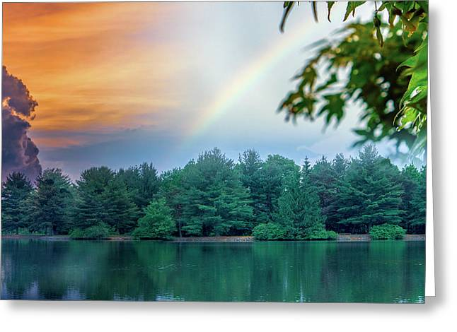 Natural Composites Greeting Card