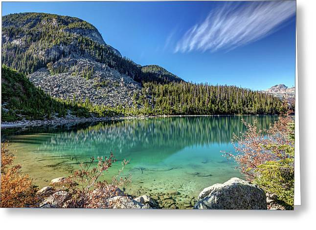 Greeting Card featuring the photograph Natural Splendor Of The Joffre Lakes by Pierre Leclerc Photography