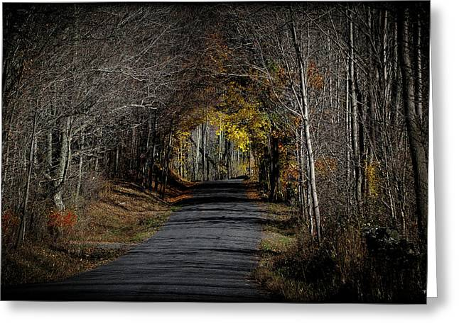 Natural Tunnel - Roxbury, New York Greeting Card