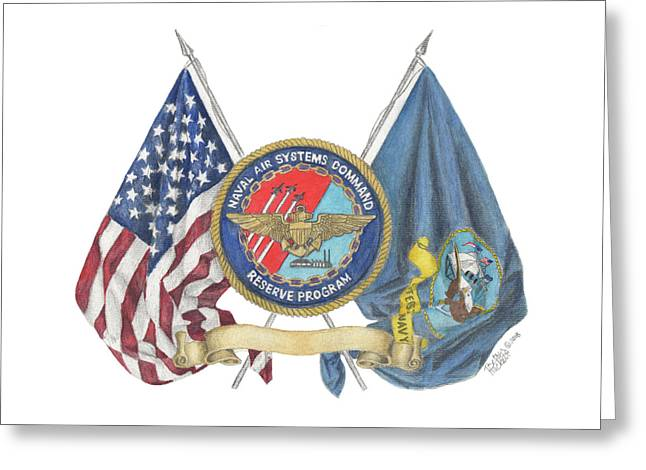 Naval Air Systems Command Reserve Program Greeting Card