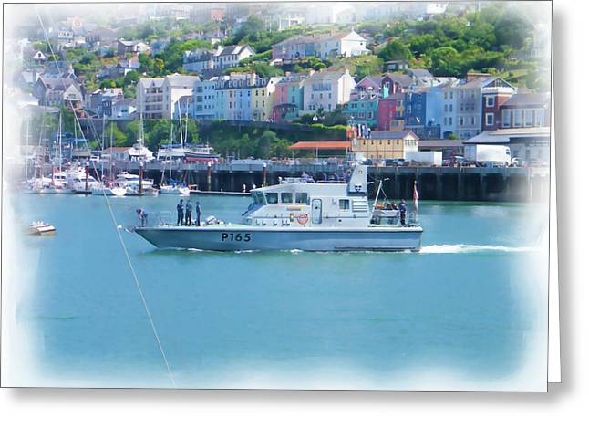 Naval Vessel Greeting Card