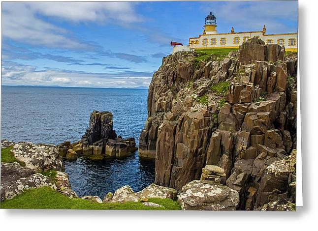 Neist Point Lighthouse Greeting Card