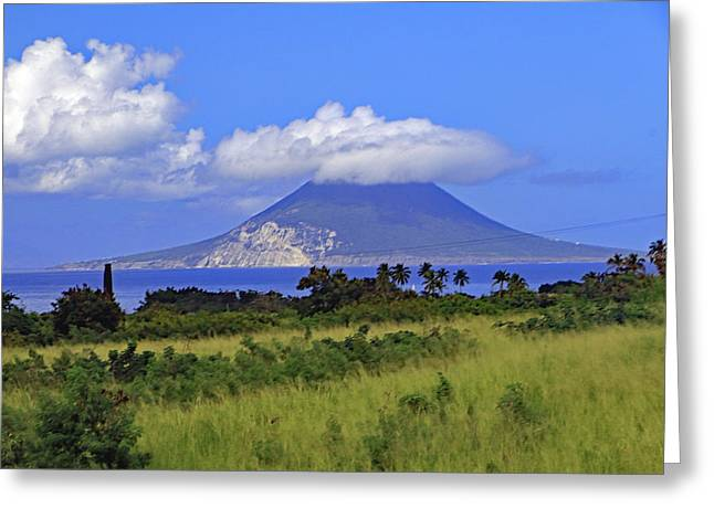 Greeting Card featuring the photograph Nevis by Tony Murtagh
