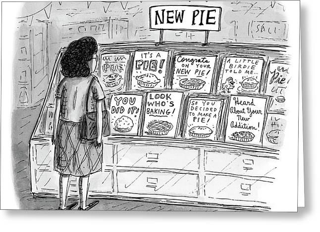 New Pie Greeting Card
