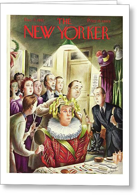 New Yorker December 5th 1942 Greeting Card