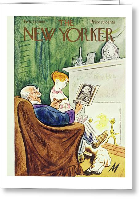 New Yorker February 23, 1946 Greeting Card