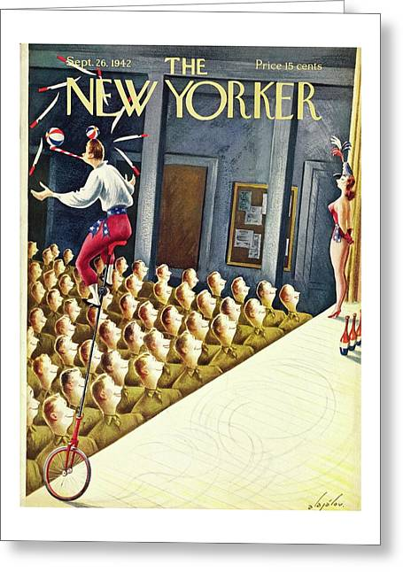 New Yorker September 26th 1942 Greeting Card