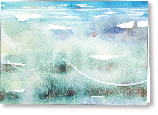New Zealand Beachscape Greeting Card