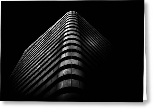 Greeting Card featuring the photograph No 1 Dundas St W Toronto Canada 3 by Brian Carson