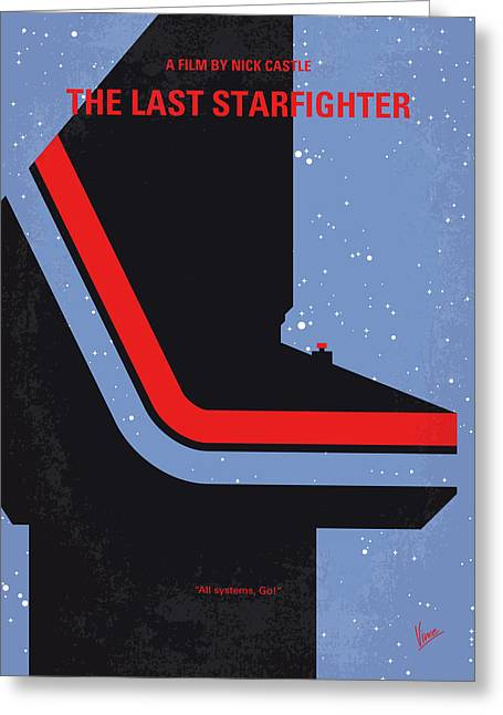 No999 My The Last Starfighter Minimal Movie Poster Greeting Card