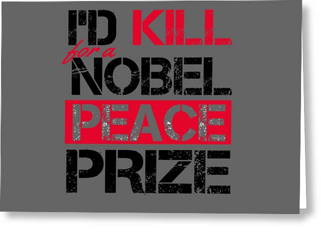 Nobel Prize Greeting Card