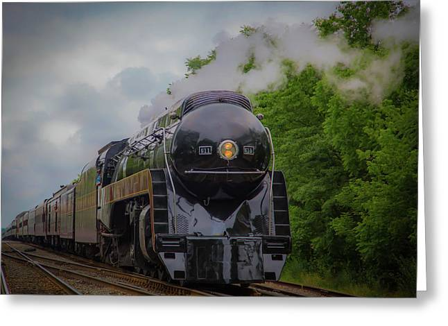 Norfolk And Western 611 Greeting Card