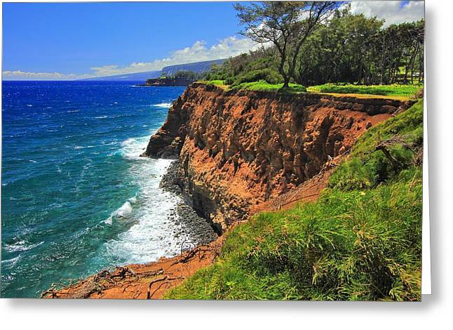 North Hawaii View Greeting Card