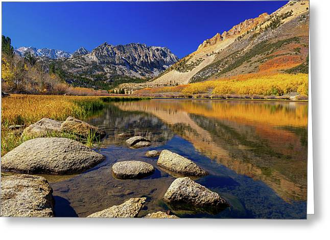 Greeting Card featuring the photograph North Lake by Tassanee Angiolillo