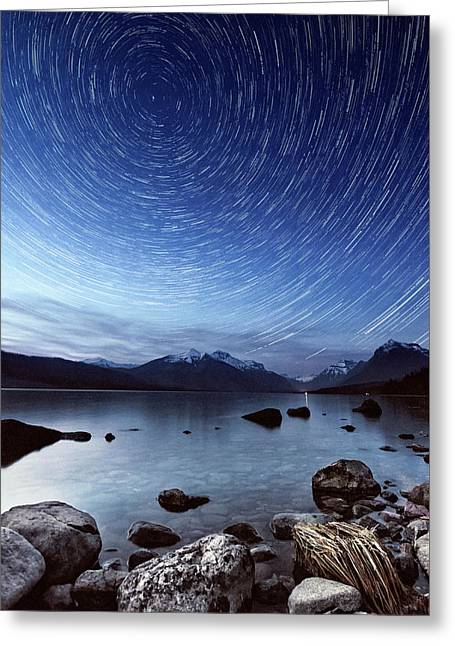 North Star Greeting Card
