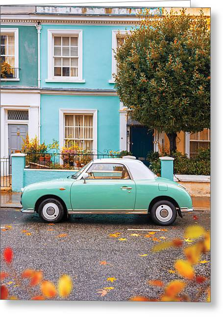 Notting Hill Vibes Greeting Card