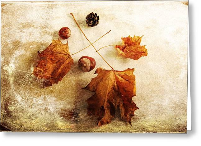 Greeting Card featuring the photograph November Mood by Randi Grace Nilsberg