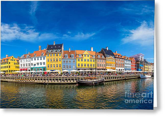 Nyhavn District Is One Of The Most Greeting Card