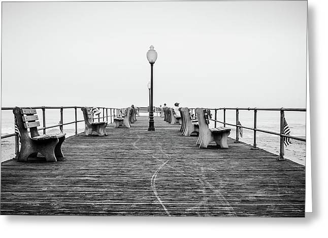Ocean Grove Pier 1 Greeting Card