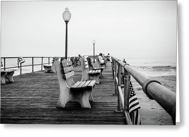 Ocean Grove Pier 2 Greeting Card