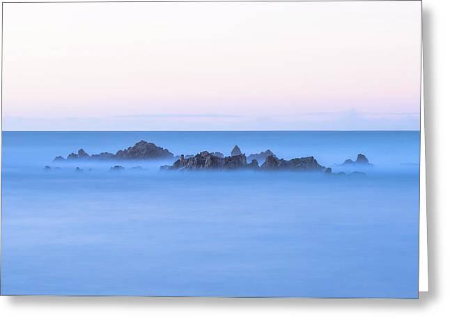 Ocean Peaks Greeting Card