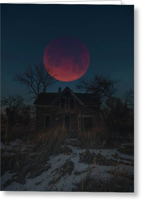 Greeting Card featuring the photograph Of Wolf And Man  by Aaron J Groen