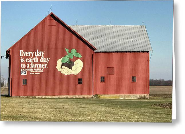 Ohio Barn  Greeting Card