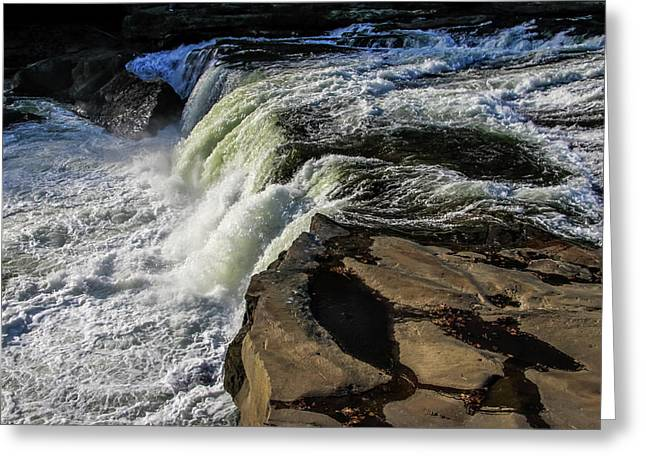 Ohiopyle Falls 1 Greeting Card