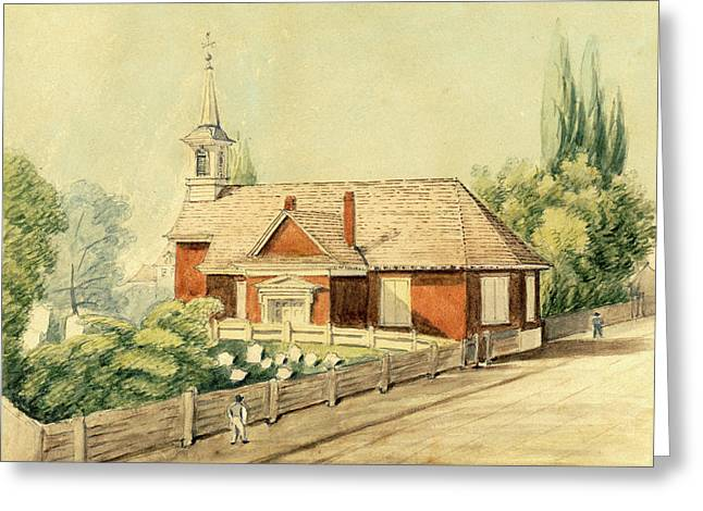 Old Swedes' Church, Southwark, Philadelphia Greeting Card