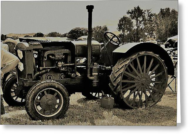 Ye Old Tractor Greeting Card