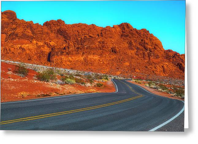 On The Road Again Greeting Card by Fernando Margolles