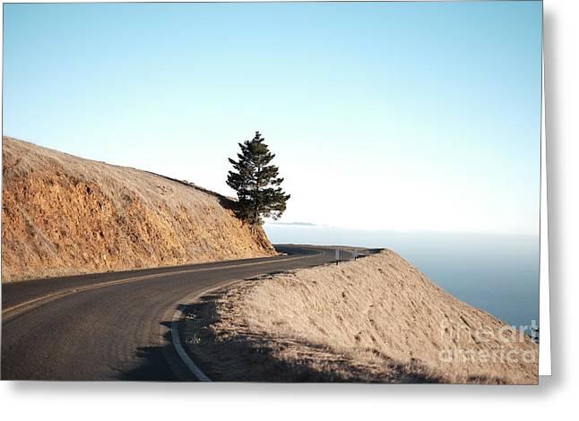 On The Way To Mount Tamalpais Greeting Card