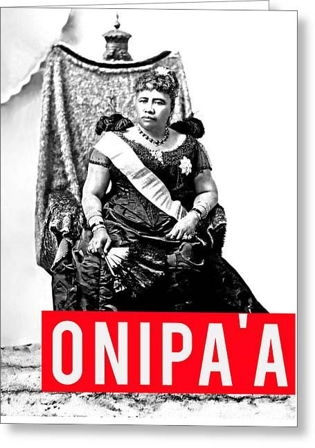 Onipaa Greeting Card