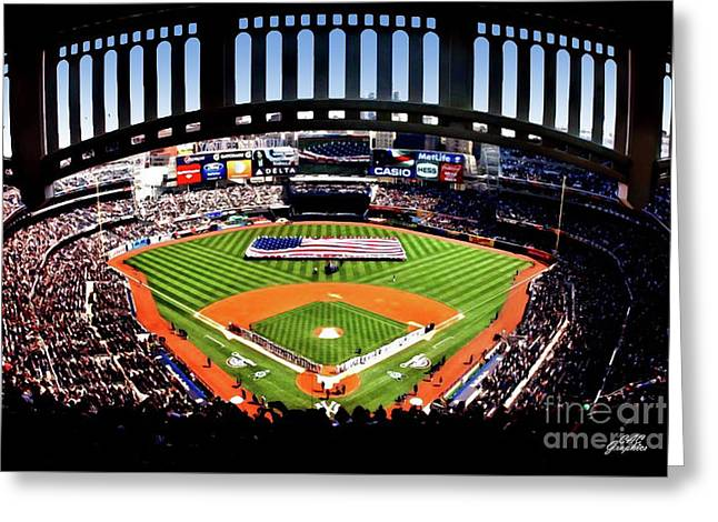 Opening Day Yankee Stadium Greeting Card
