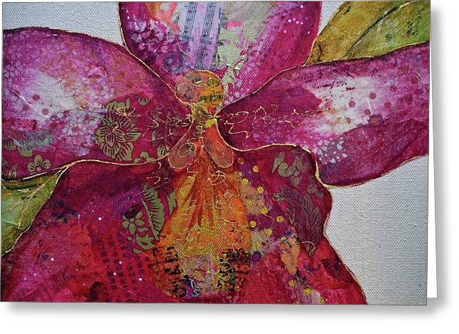 Orchid Passion II Greeting Card