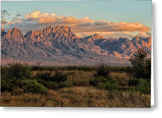 Organ Mountains, Las Cruces, New Mexico Greeting Card