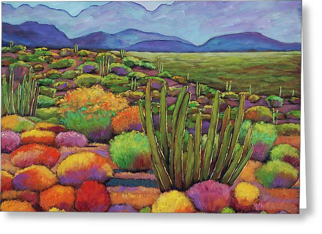 Organ Pipe Greeting Card