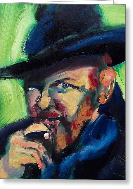 Orson Welles Greeting Card