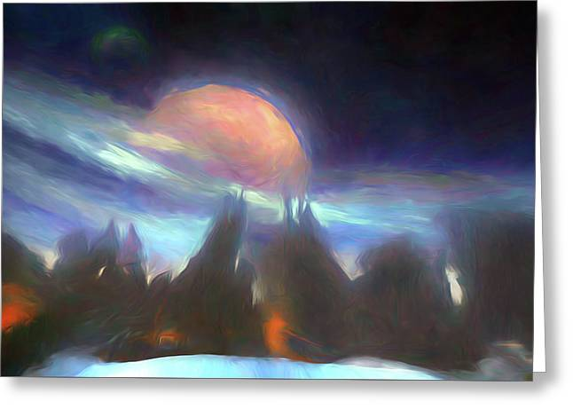 Other Worlds II Greeting Card