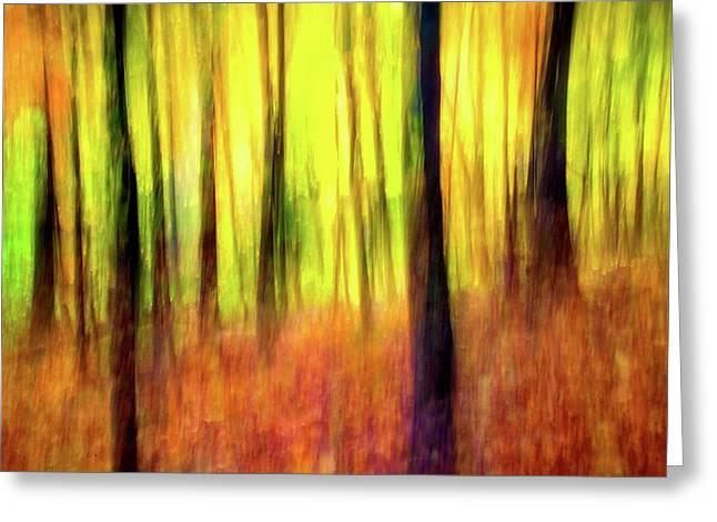 Ozark Autumn Blaze Greeting Card