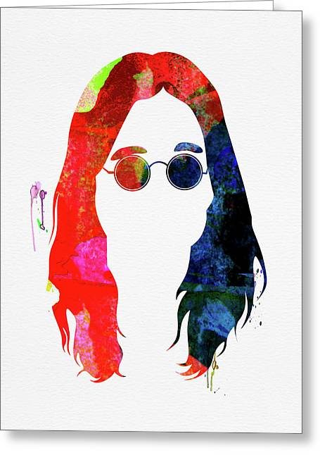 Ozzy Watercolor Greeting Card